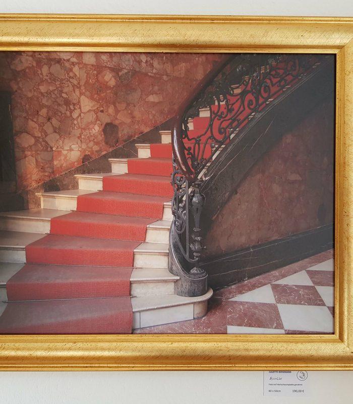 ©Juliette Bergmann Berliner Treppe 50x60 gerahmt Fotografie